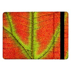 Nature Leaves Samsung Galaxy Tab Pro 12 2  Flip Case