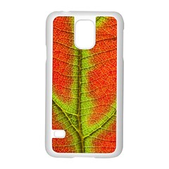Nature Leaves Samsung Galaxy S5 Case (white) by BangZart
