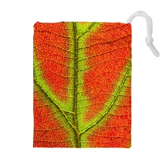 Nature Leaves Drawstring Pouches (extra Large)