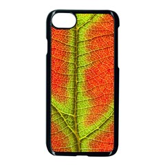 Nature Leaves Apple Iphone 7 Seamless Case (black) by BangZart
