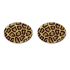 Leopard Cufflinks (oval)