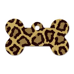 Leopard Dog Tag Bone (two Sides) by BangZart