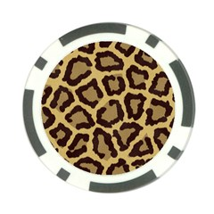 Leopard Poker Chip Card Guard (10 Pack)