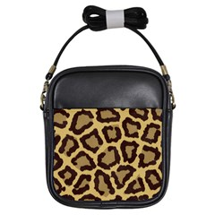 Leopard Girls Sling Bags by BangZart