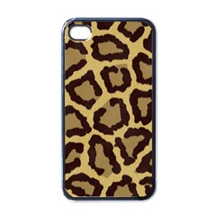 Leopard Apple Iphone 4 Case (black) by BangZart