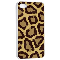 Leopard Apple Iphone 4/4s Seamless Case (white) by BangZart