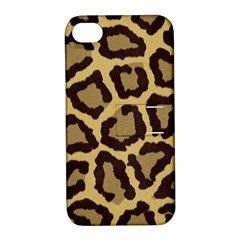 Leopard Apple Iphone 4/4s Hardshell Case With Stand