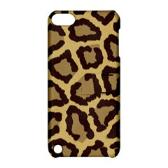 Leopard Apple Ipod Touch 5 Hardshell Case With Stand by BangZart