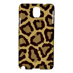 Leopard Samsung Galaxy Note 3 N9005 Hardshell Case by BangZart