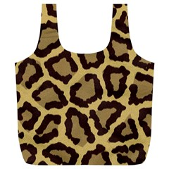 Leopard Full Print Recycle Bags (l)