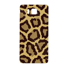 Leopard Samsung Galaxy Alpha Hardshell Back Case by BangZart