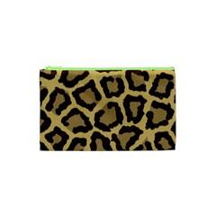 Leopard Cosmetic Bag (xs)