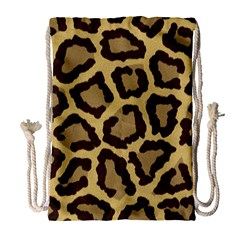 Leopard Drawstring Bag (large)