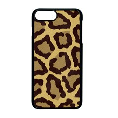Leopard Apple Iphone 7 Plus Seamless Case (black) by BangZart