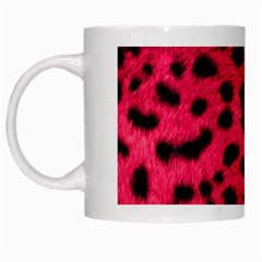Leopard Skin White Mugs by BangZart