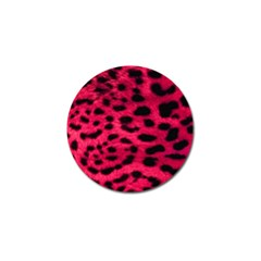 Leopard Skin Golf Ball Marker (4 Pack)