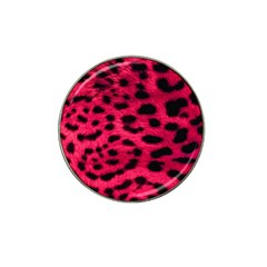 Leopard Skin Hat Clip Ball Marker (4 Pack) by BangZart