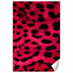 Leopard Skin Canvas 24  X 36  by BangZart