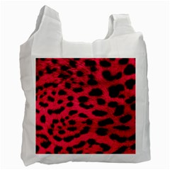 Leopard Skin Recycle Bag (two Side)  by BangZart