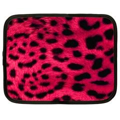 Leopard Skin Netbook Case (xl)