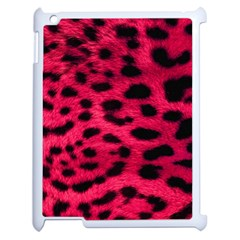 Leopard Skin Apple Ipad 2 Case (white) by BangZart
