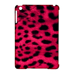 Leopard Skin Apple Ipad Mini Hardshell Case (compatible With Smart Cover) by BangZart