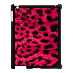 Leopard Skin Apple Ipad 3/4 Case (black)