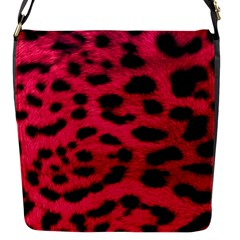 Leopard Skin Flap Messenger Bag (s) by BangZart
