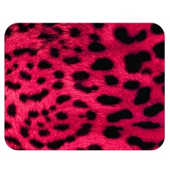 Leopard Skin Double Sided Flano Blanket (medium)