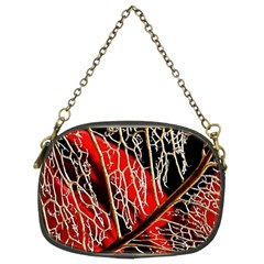 Leaf Pattern Chain Purses (two Sides)