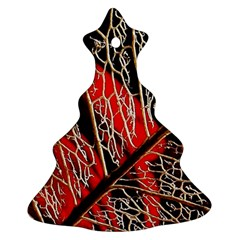 Leaf Pattern Ornament (christmas Tree)