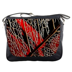 Leaf Pattern Messenger Bags by BangZart