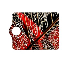 Leaf Pattern Kindle Fire Hd (2013) Flip 360 Case by BangZart