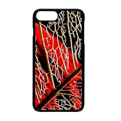 Leaf Pattern Apple Iphone 7 Plus Seamless Case (black) by BangZart