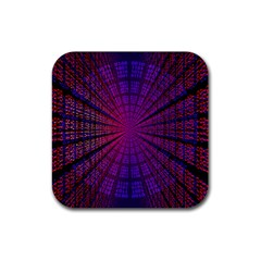 Matrix Rubber Square Coaster (4 Pack)  by BangZart