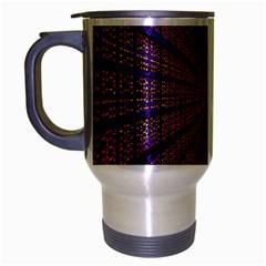 Matrix Travel Mug (silver Gray) by BangZart