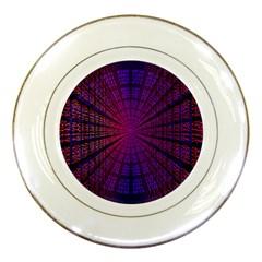 Matrix Porcelain Plates by BangZart
