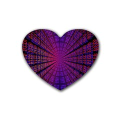 Matrix Heart Coaster (4 Pack)