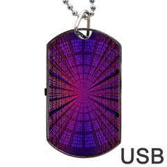 Matrix Dog Tag Usb Flash (two Sides) by BangZart