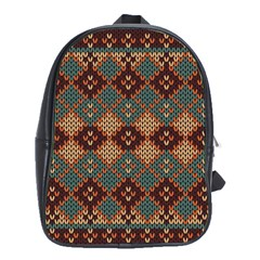 Knitted Pattern School Bags(large)  by BangZart