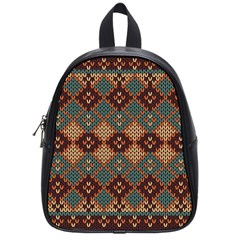 Knitted Pattern School Bags (small)  by BangZart