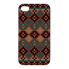 Knitted Pattern Apple Iphone 4/4s Premium Hardshell Case by BangZart