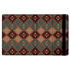 Knitted Pattern Apple Ipad 3/4 Flip Case by BangZart