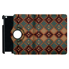 Knitted Pattern Apple Ipad 3/4 Flip 360 Case by BangZart