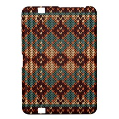 Knitted Pattern Kindle Fire Hd 8 9  by BangZart
