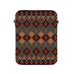 Knitted Pattern Apple Ipad 2/3/4 Protective Soft Cases