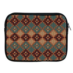Knitted Pattern Apple Ipad 2/3/4 Zipper Cases