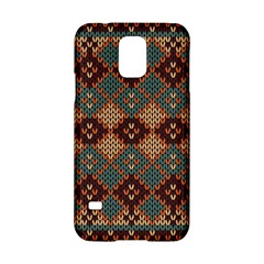 Knitted Pattern Samsung Galaxy S5 Hardshell Case  by BangZart