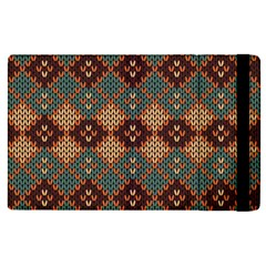 Knitted Pattern Apple Ipad Pro 9 7   Flip Case by BangZart