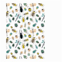 Insect Animal Pattern Small Garden Flag (two Sides) by BangZart